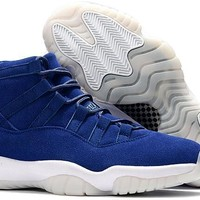 Air Jordan Retro 11 PRM Jeter Authentic Quality Air 11s XI Basketball Shoes Sneakers Sports RE2PECT Shoes