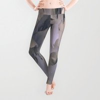 Lady's leggings Grey leggings Active wear Casual wear Stretchable leggings