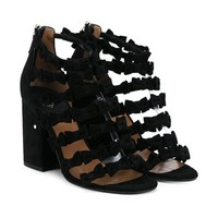 Laurence Dacade 'mimi' Bow Embellished Sandals - Browns - Farfetch.com