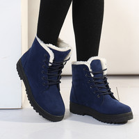 Botas Femininas Women Boots Women Winter Boots Warm Snow Boots Fashion Platform Shoes Fashion Ankle Boots