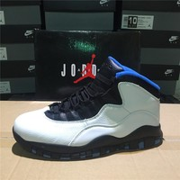 Air Jordan 10 Retro White/Black/Blue