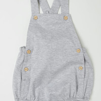 Cotton Bib Overall Shorts - from H&M