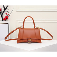 Balenciaga Women's Leather Shoulder Bag Satchel Tote Bags Crossbody 23CM
