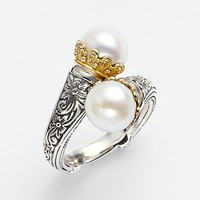 Women's Konstantino 'Hermione' Pearl Coil Ring