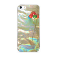 Holographic Circus Balloons iPhone Case