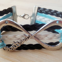 Welcome to my store, infinity bracelet harry potter, unique bracelet, jewelry, if you like it, click on the collection