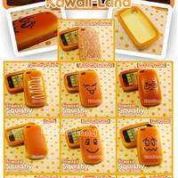 Squishy Bread iPhone 4G Case ~ Special Scented Edition