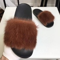 Givenchy  Women Fashion Simple Casual Slipper Shoes