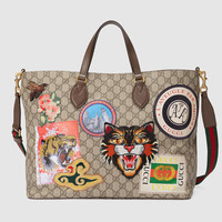 Gucci - Gucci Courrier soft GG Supreme tote