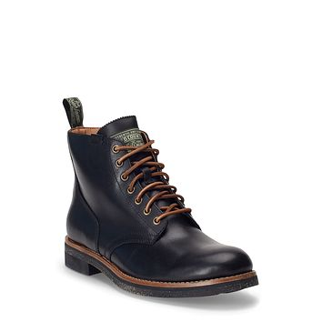 Polo Ralph Lauren Mens  Rl Army Boot, Leather/Suede Various Sizes, Colors
