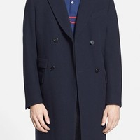 Men's Gant Rugger 'The Doubler' Double Breasted Long Coat