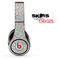 Colorful Dotted Skin for the Beats by Dre Studio, Solo, MIXR, Pro or Wireless Version Headphones