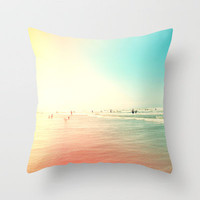 Sunny Side III Throw Pillow by Galaxy Eyes