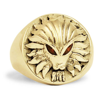 Bronze Predator vs Alien Ring, Zirconia Eyes Predator Ring