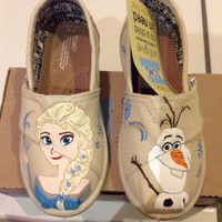 Elsa and Olaf toddler toms