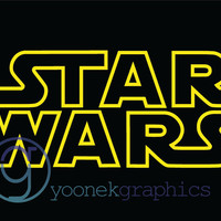 Star Wars Decal Sticker for Car Window, Laptop and More. # 521