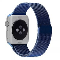 Navy Metal Loop iWatch Band