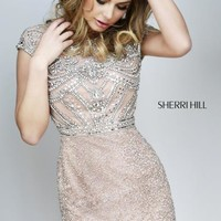 Amazing 2014 Sherri Hill Short Homecoming Dress 11164