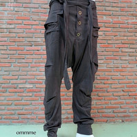 Harem pants 006 (brown)