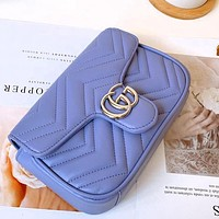 GG bag Macaron marmont super mini mobile phone, card, lipstick, mirror, etc. Rectangle bag