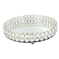 Clear Crystal Round Tray | Shop Hobby Lobby