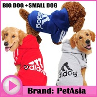 2017 Dog Clothes Winter Warm clothes Dog Clothes For Small Big dog Coat XS - XXL Spring Summer Winter ChiHuaHua Girl China