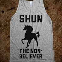 Shun the Nonbeliever