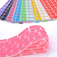 9 Colors Silicone Keyboard Cover Skin for Apple Macbook Pro MAC 13 15 Air 13 Soft keyboard stickers