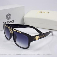 mieniwe? Perfect Versace Women Casual Popular Summer Sun Shades Eyeglasses Glasses Sunglasses
