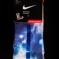 Custom Nike Elite Socks - Thesockgame.com — KD Thunder Galaxies Custom Nike Elite Socks