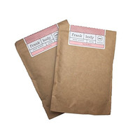 FRANK BODY Natural and Caffeinated Body Scrub Multi-Packs (Double Pack)