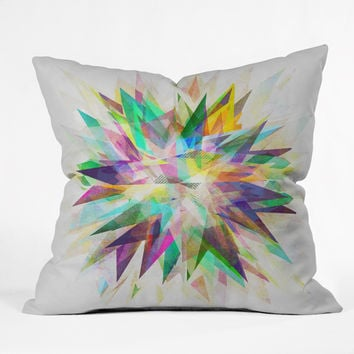 Mareike Boehmer Colorful 6 Y Outdoor Throw Pillow