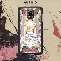 Marina And The Diamond Hate Everything Samsung Galaxy Note 3 Case Auroid