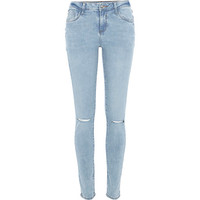 River Island Womens Light wash Amelie superskinny reform jeans