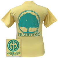 Girlie Girl Originals Traditions Oak Tree Swing Southern Country Comfort Colors Butter Bright T Shirt
