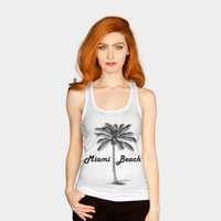 Miami Beach Tank Top By ARTPICS Design By Humans