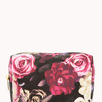 Fresh Floral Small Cosmetic Bag
