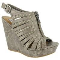 Saucin Wedges - Grey