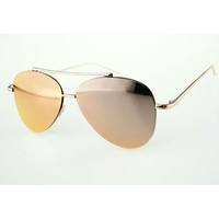 Aviator Sunglasses with Metal Frame