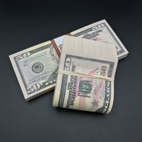 $10,000 Full Print New Style Fat Band & Stack