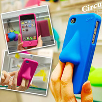 HANA Silicone iPhone 4/4s case (Blue)