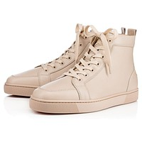 Christian Louboutin CL Rantus Men's Flat Colombe Calf 10s Sneakers Online
