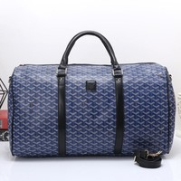 Goyard Women Travel Bag Leather Tote Handbag Shoulder Bag-1