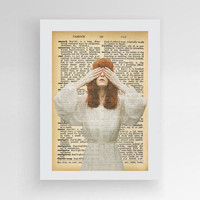 Instant download, Florence Welch, Florence and the Machine, Florence And The Machine Art Print, Retro Vintage Wall Art