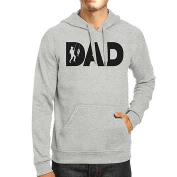 Dad Fish Grey Unisex Hoodie Perfect Gift Ideas For Father In Law