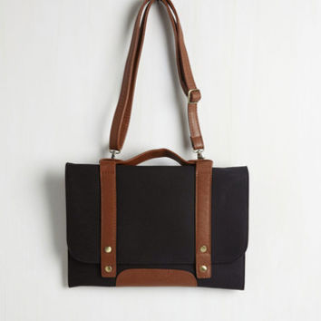 Scholastic Cool Throttle Bag in Black by ModCloth