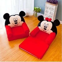 Trendy Foldable Mickey Mouse Sofa Seats For Boys and Girls