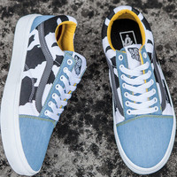 :Vans:Classic Canvas Leisure Shoes