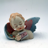 Lamore China No. 432 Made in Occupied Japan Cherub Figurine