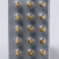 DuartsnJem The Iphone 5 Clear Case with Gold Spikes : Karmaloop.com - Global Concrete Culture